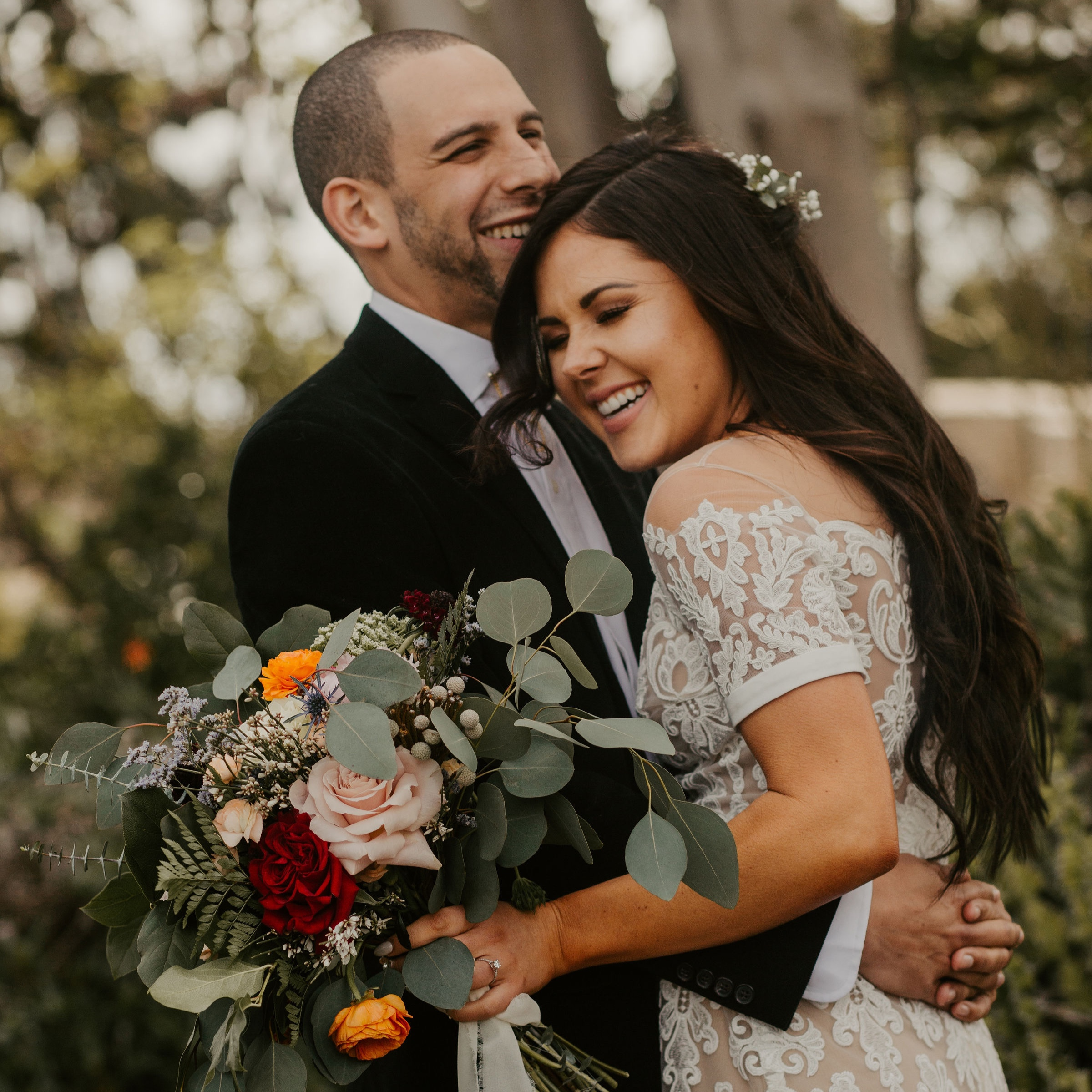 Morgan and Emma - Wedding Florals - Floral Design - Ashley Hur - Hip Hip Hooray Dot Love