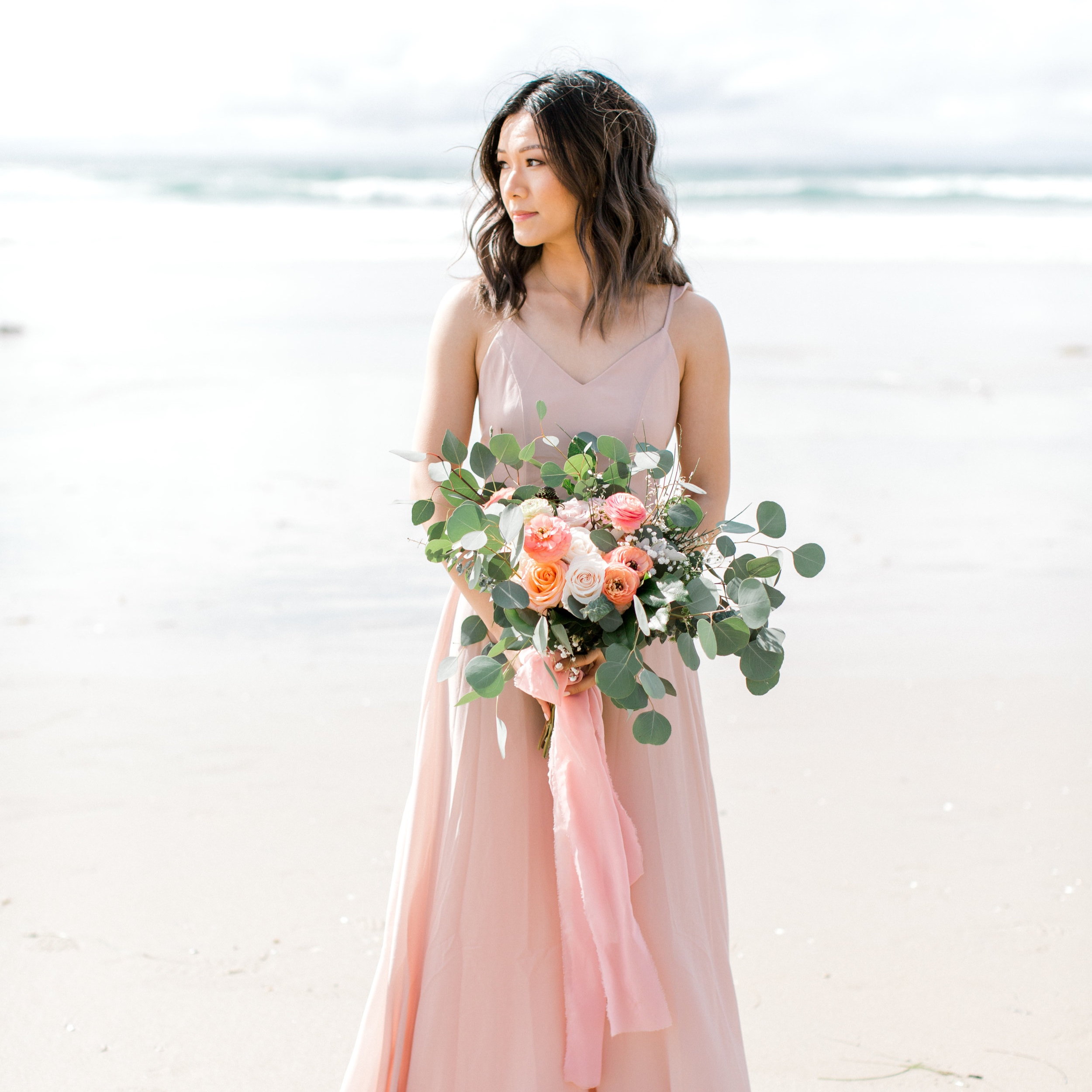 Kathleen - Floral Design - Ashley Hur - Hip Hip Hooray Dot Love
