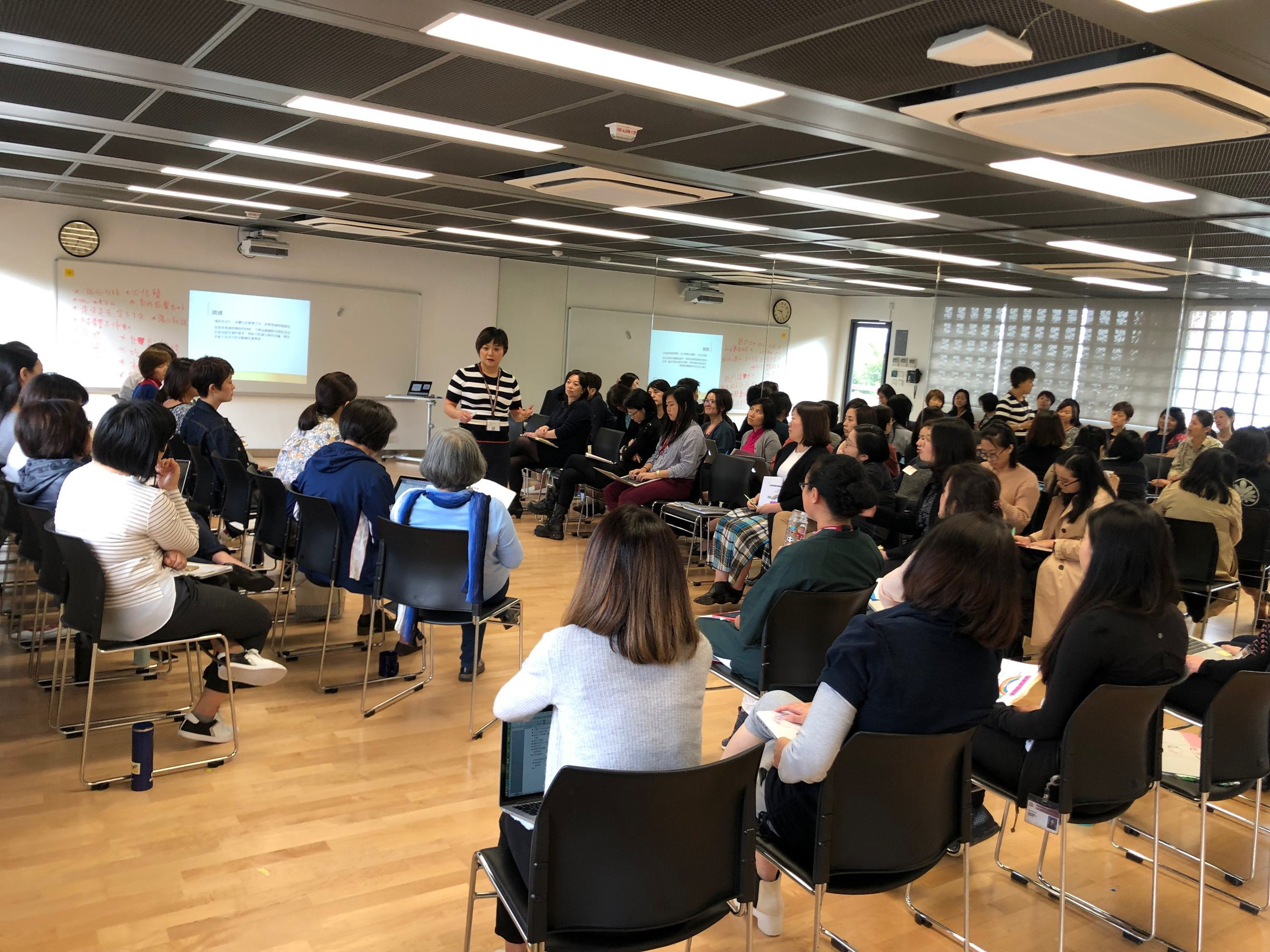 Professional development for teachers at Chinese International School to support students with social communication challenges