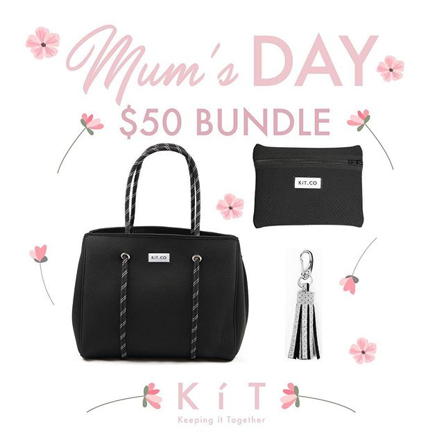 🌸 Bundles of Love 🌸 Our $50 Mum's Day Bundles are the perfect way to show Mum how awesome she is! 💖 Tap to shop and mix'n match!👆🏻 . . . #mothersday #mothersdaygifts #igotitfrommymama #giftideas #treatyourmum #myKíT #KíTaccessories #keepittogether #lifestyleaccessories #mornington #morningtonpeninsula #supportlocal #melbournedesign #businesschicks #businesschicksau #onlinestore #neoprene #sportsluxe #veganaccessories #machinewashablebags #machinewashable