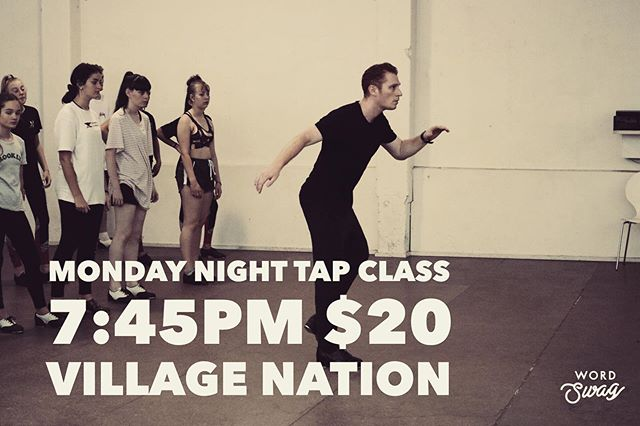 Class this Monday! #tapdance #tap #dance