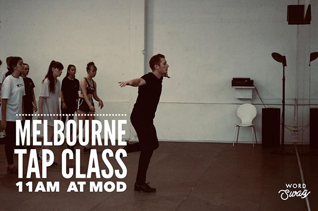 I am teaching a tap class @jcministryofdance in MELBOURNE at 11am on Saturday! It will be Int/Advanced, looking forward to sharing! #tapdance #tap #dance