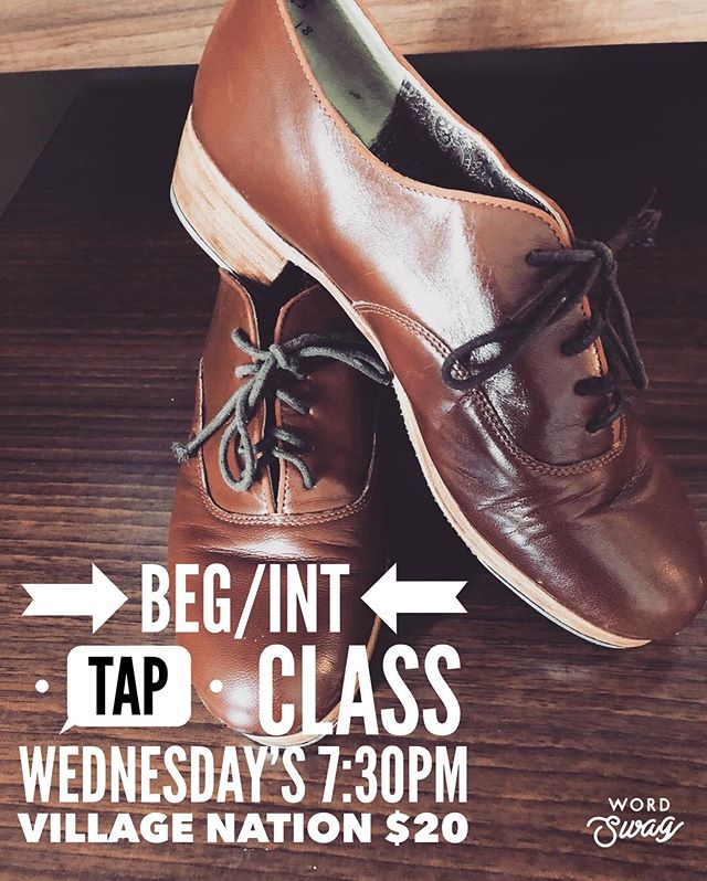 I'm running a Beginner/Intermediate Class! Every Wednesday I will have an accessible tap class, we'll do rudiments, combos and some repertoire. Appropriate for anyone that has found my Monday night class too difficult, beginners, musical theatre performers wanting to brush up/ready for auditions (42nd St is coming up so I can help with that) or students still growing. It will be 7:30pm every Wednesday night. #tapdance #tap #dance
