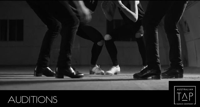 AUDITION NOTICE: The Australian Tap Dance Company are excited to announce they are looking for members to join a professional based tap dance company which will aim to produce 2 works per year.  We are only looking for Sydney based tap dancers at this stage and look forward to announcing Melbourne auditions in the future.  To audition, please submit a video no longer than two minutes of yourself improvising (showing both musicality and technique) and submit before the 30th of May to the following email address: australiantapdanceco@outlook.com  All members must be 18 years and over and available on Saturday afternoons for company training sessions.  Tag anyone below who may be interested.