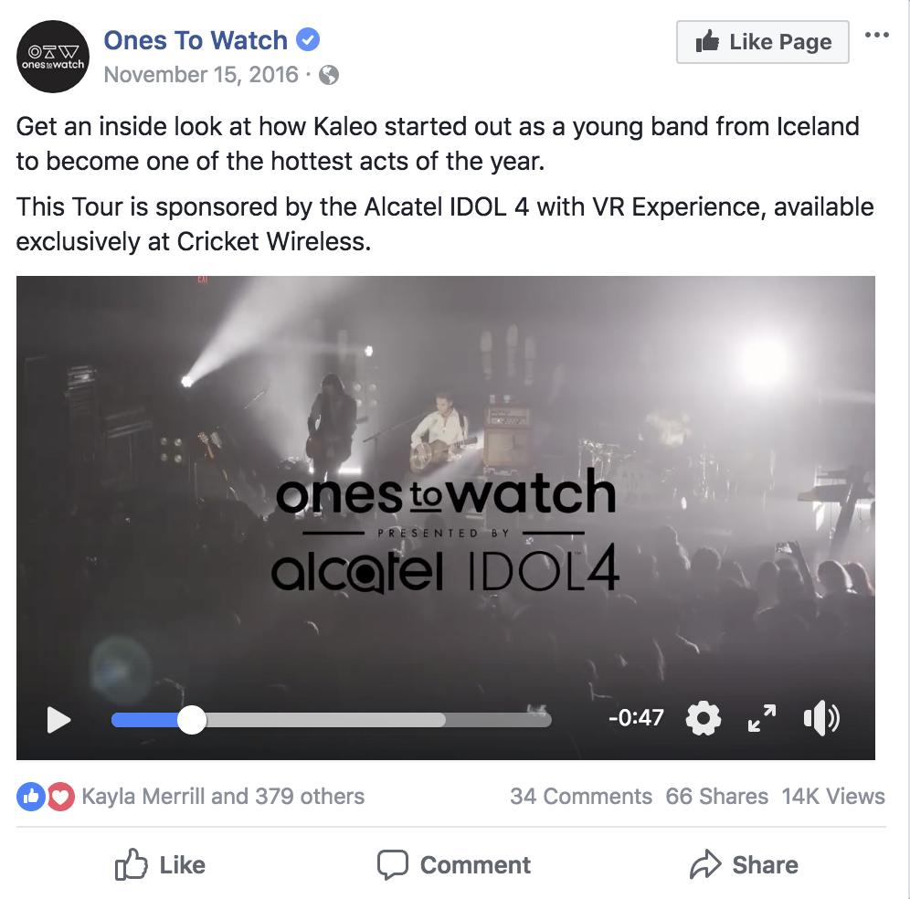 14K + views on facebook -