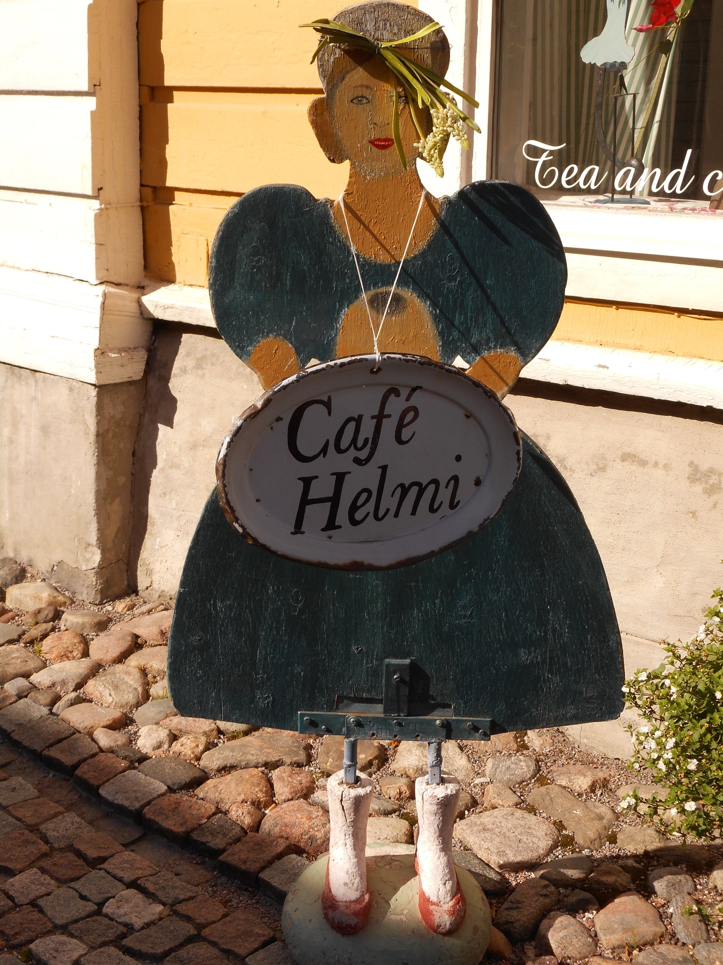 Charming cafe in Porvoo