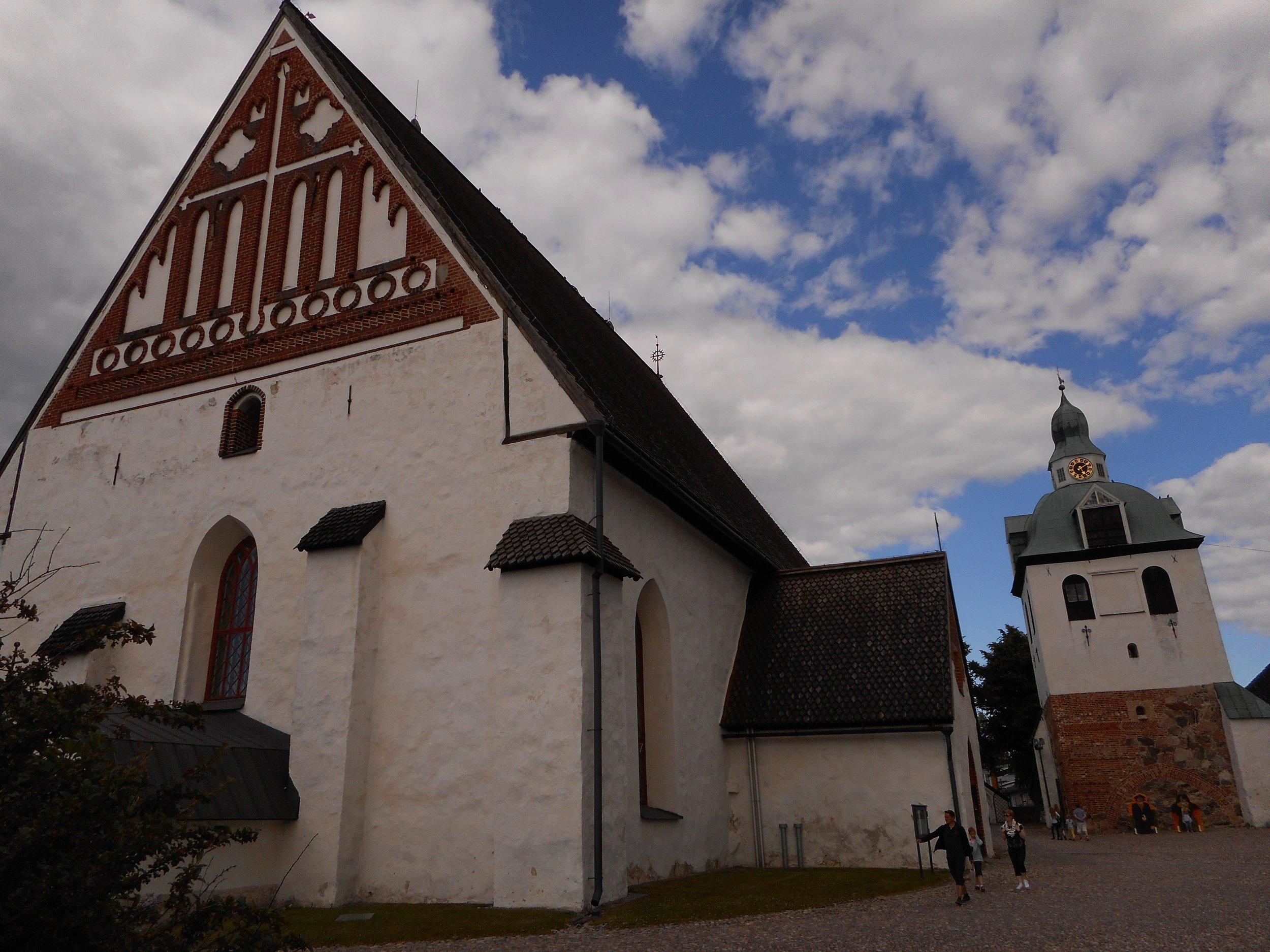 Porvoo Cathedral Porvoo walking trip from Helsinki