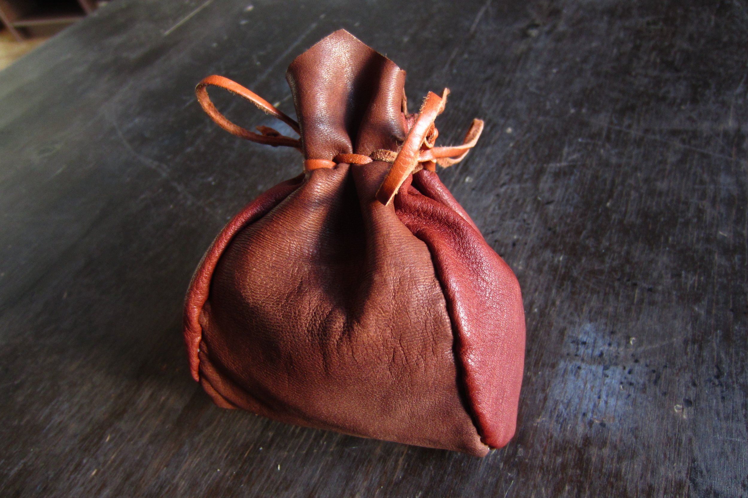 handcraft leather container