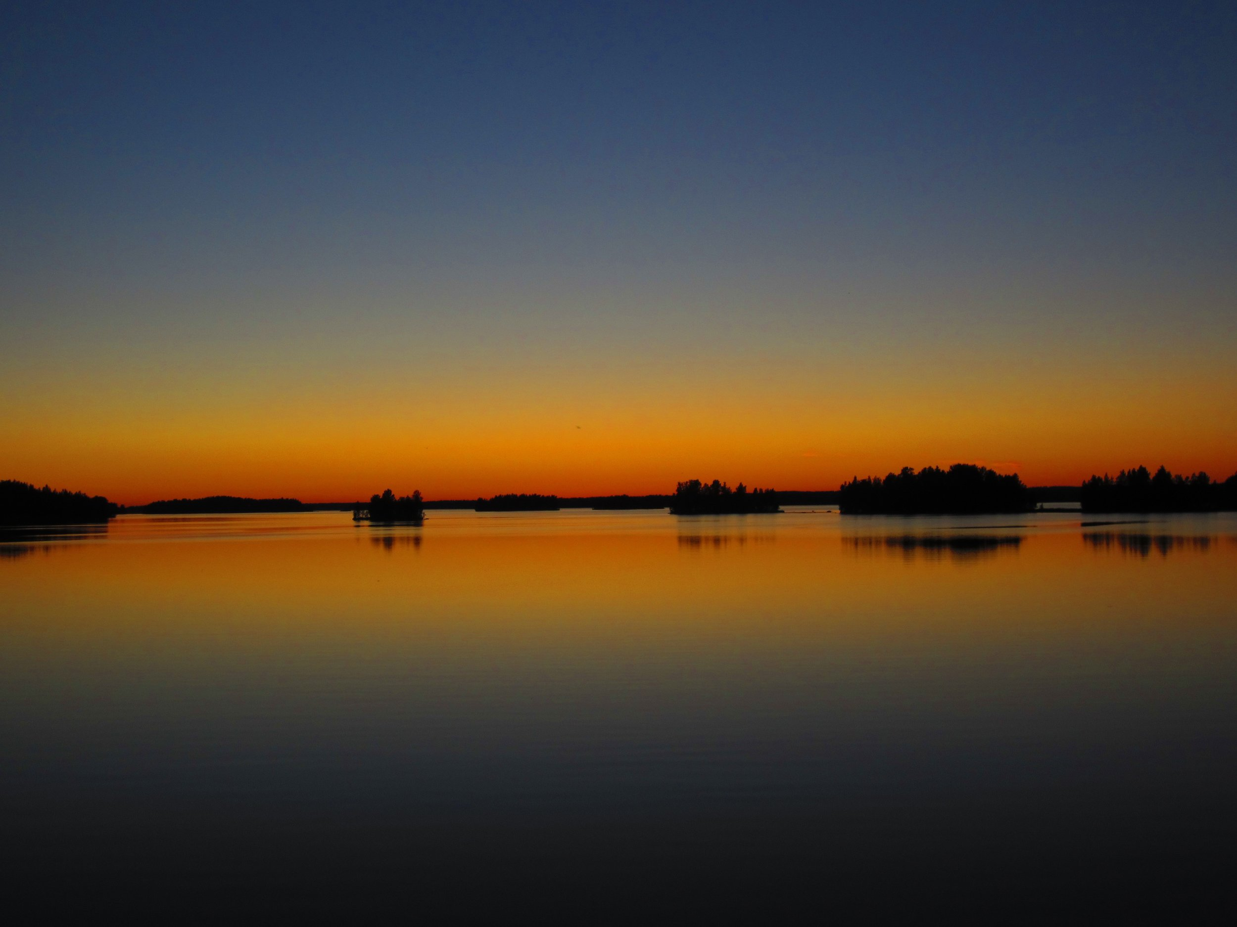 sunset on Baltic sea Gulf of Finland nature trips