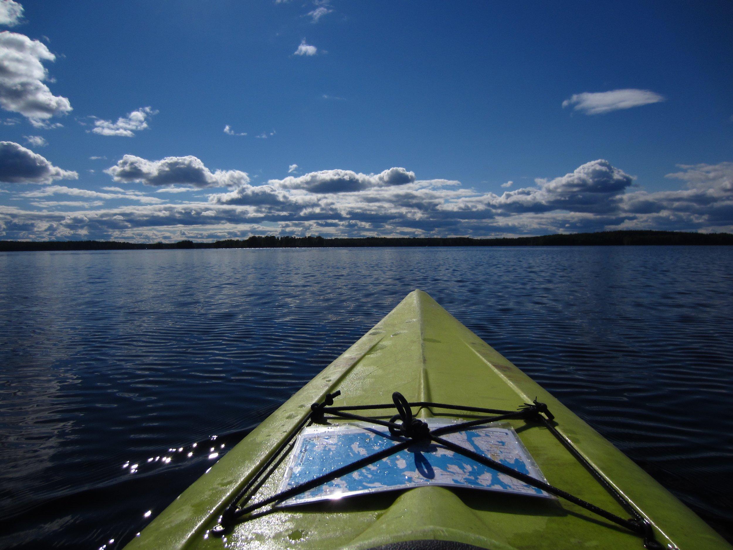 private canoeing trip Helsinki