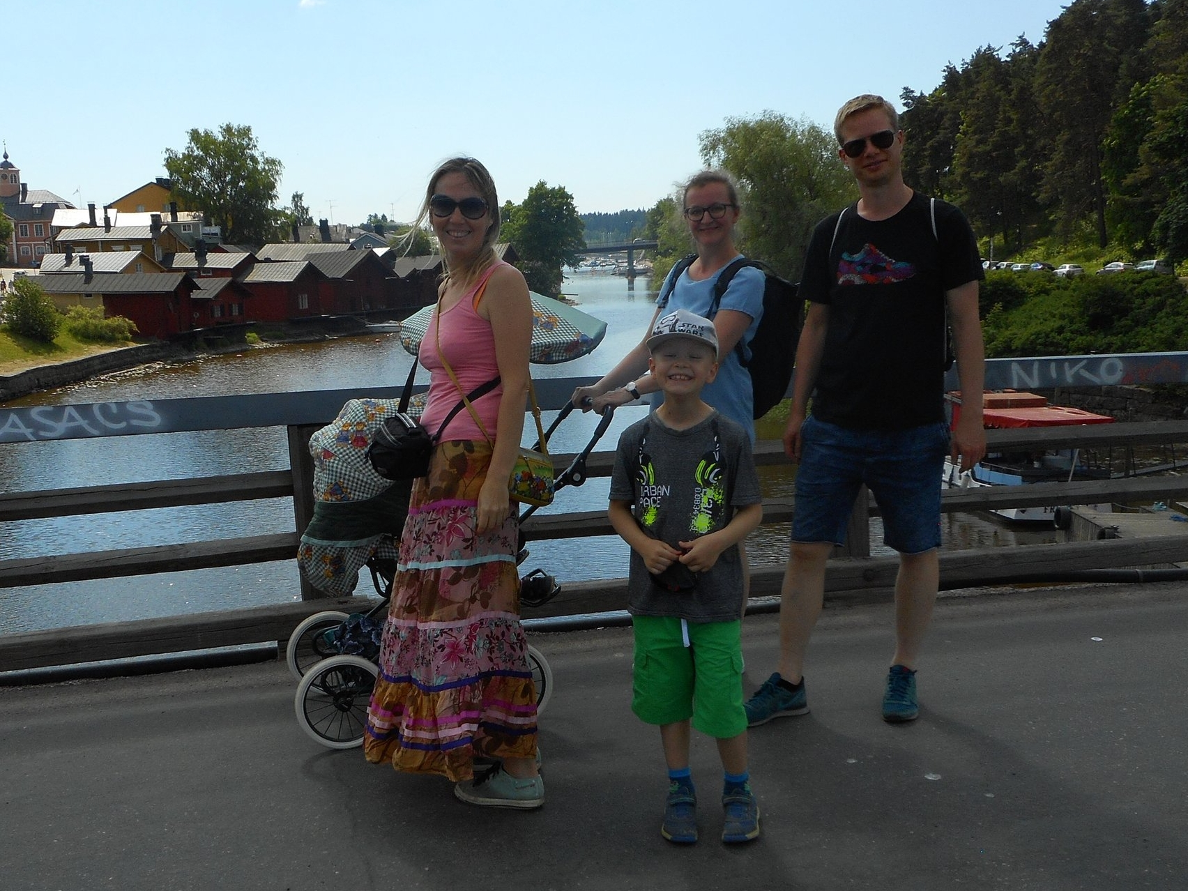 Porvoo Town Walk also for children and families