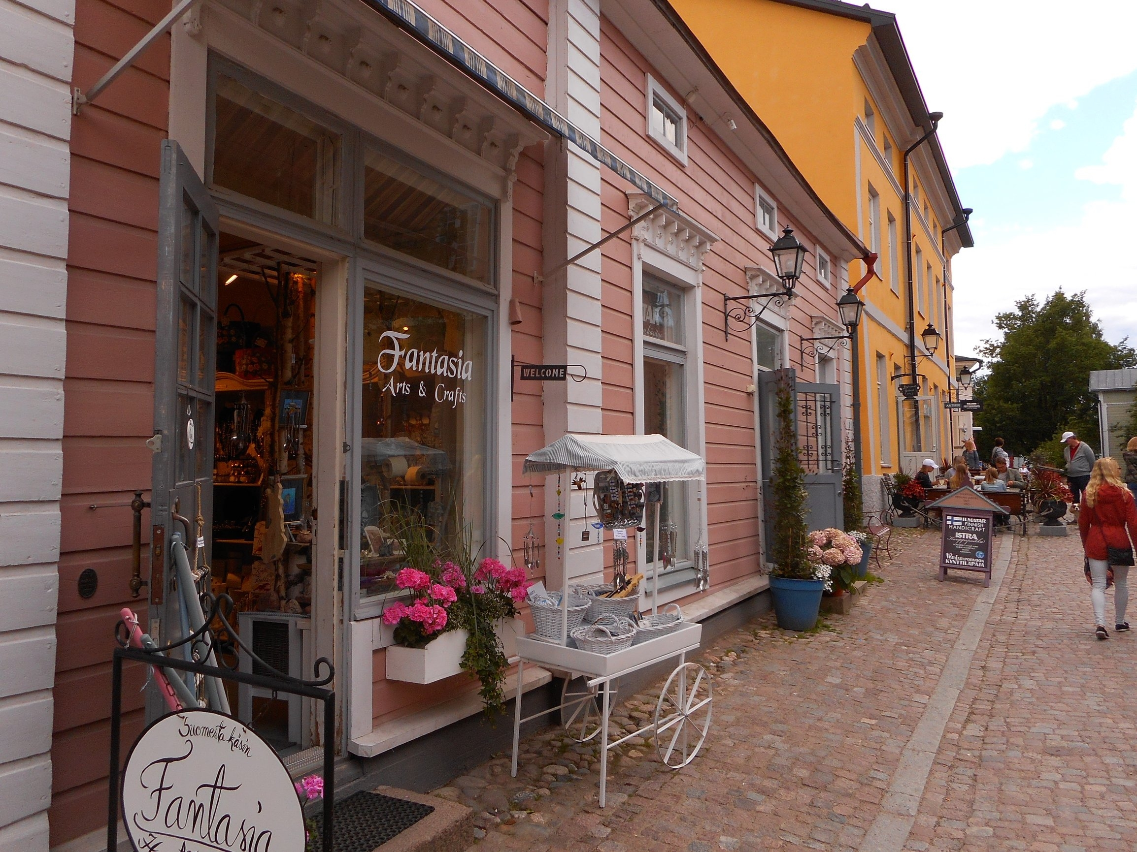 Porvoo medieval town  is very nice day trip destination especially in summer time.
