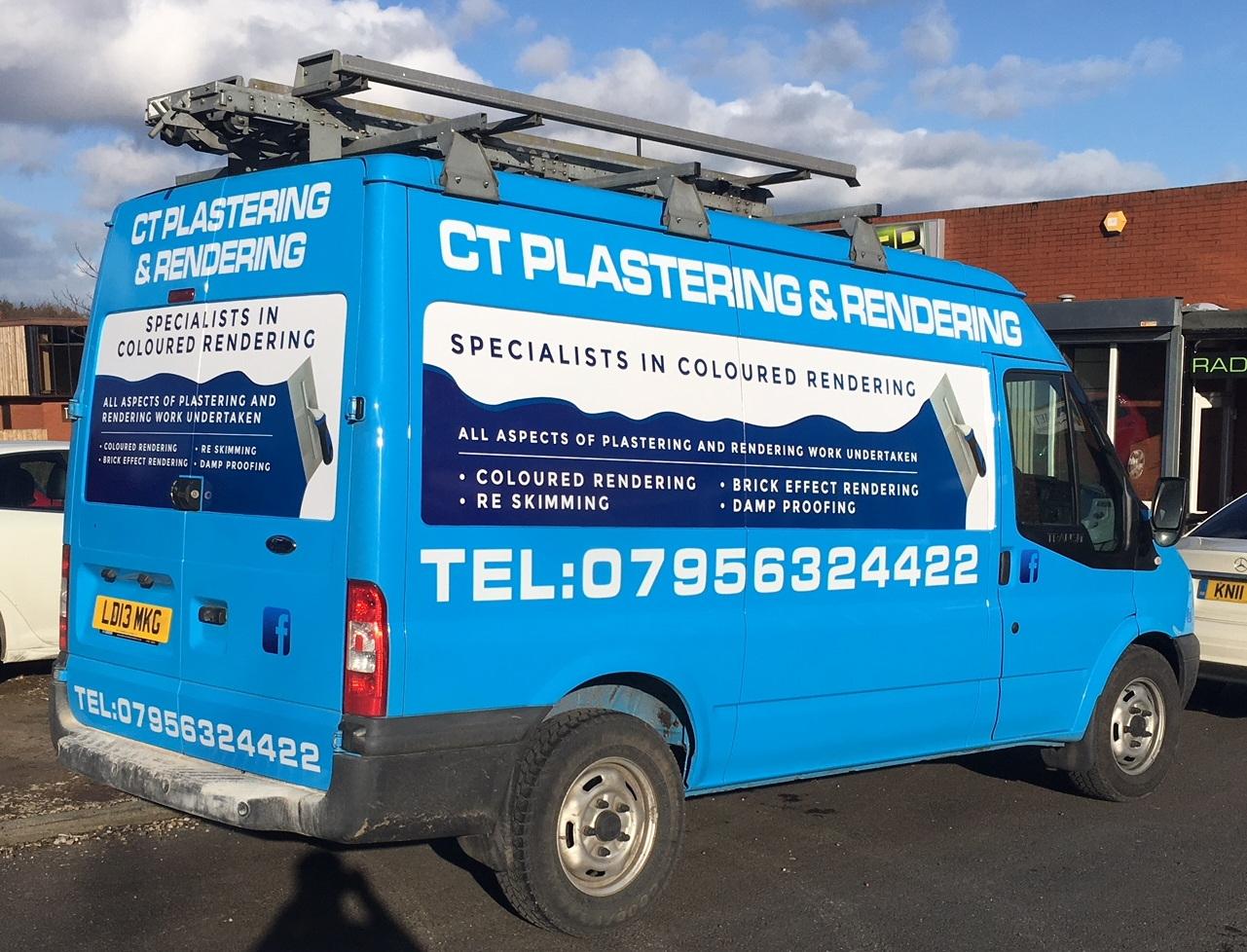 CT PLASTERING & RENDERING