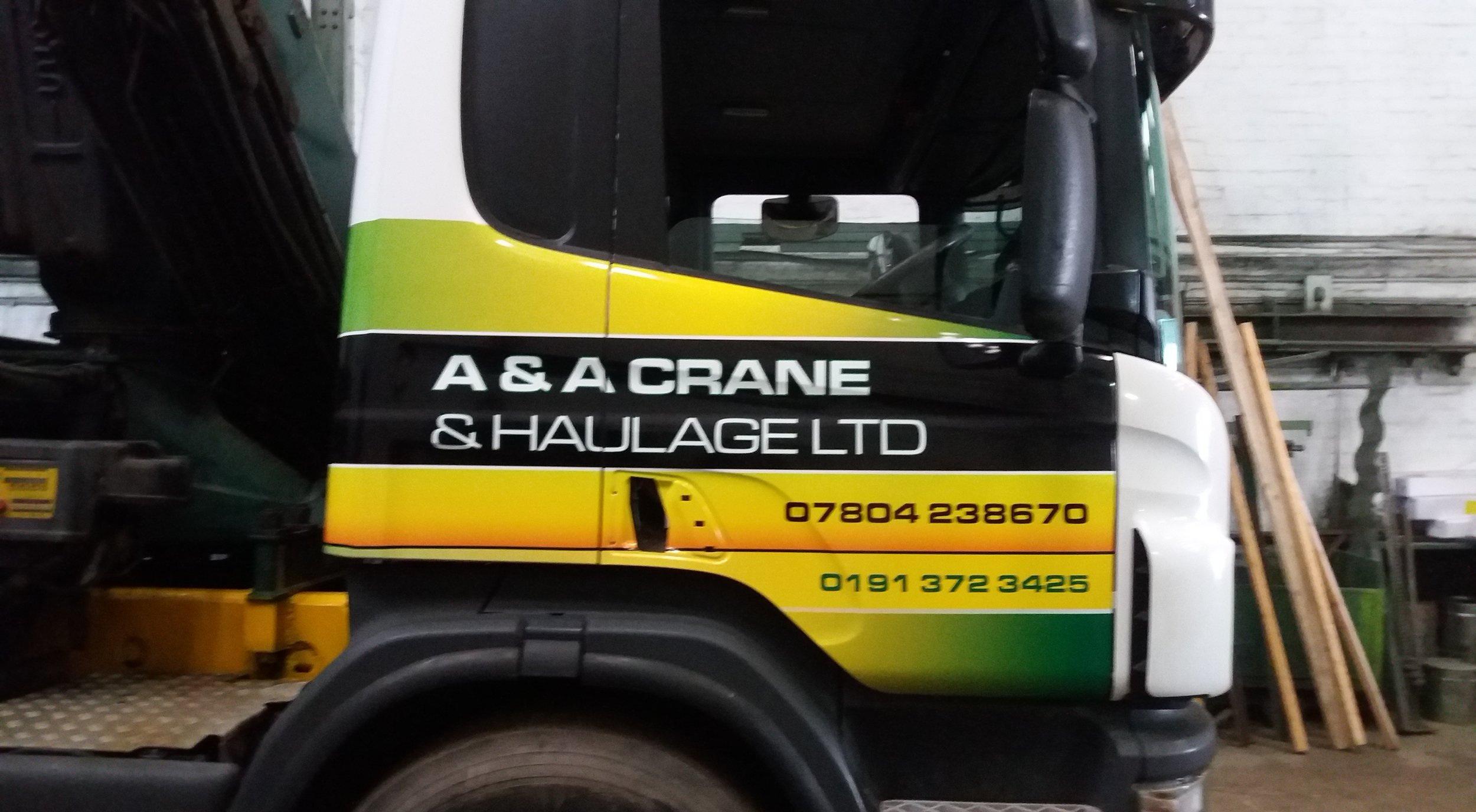A & A CRANE & HAULAGE LTD