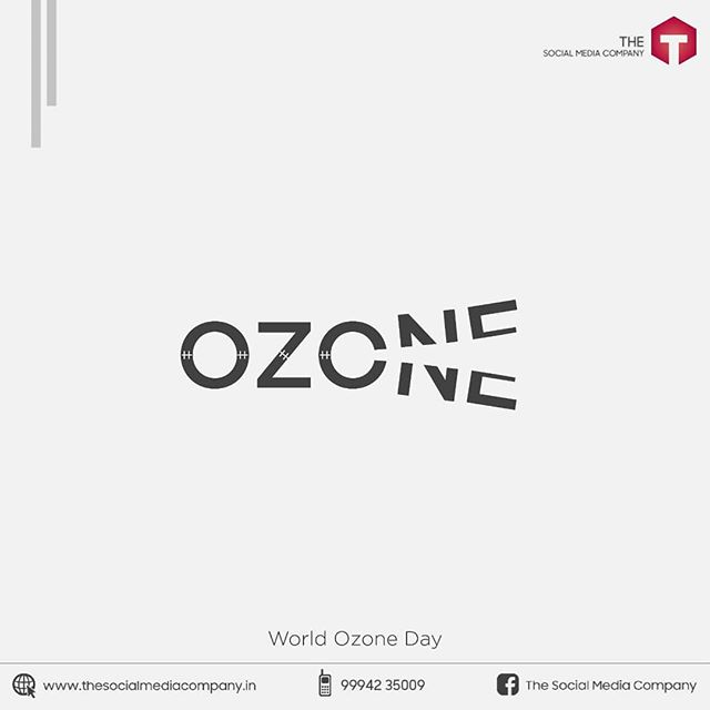 International Day for the Preservation of the Ozone Layer #WorldOzoneDay ☁️