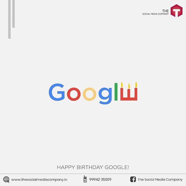Happy Birthday Google 🎂