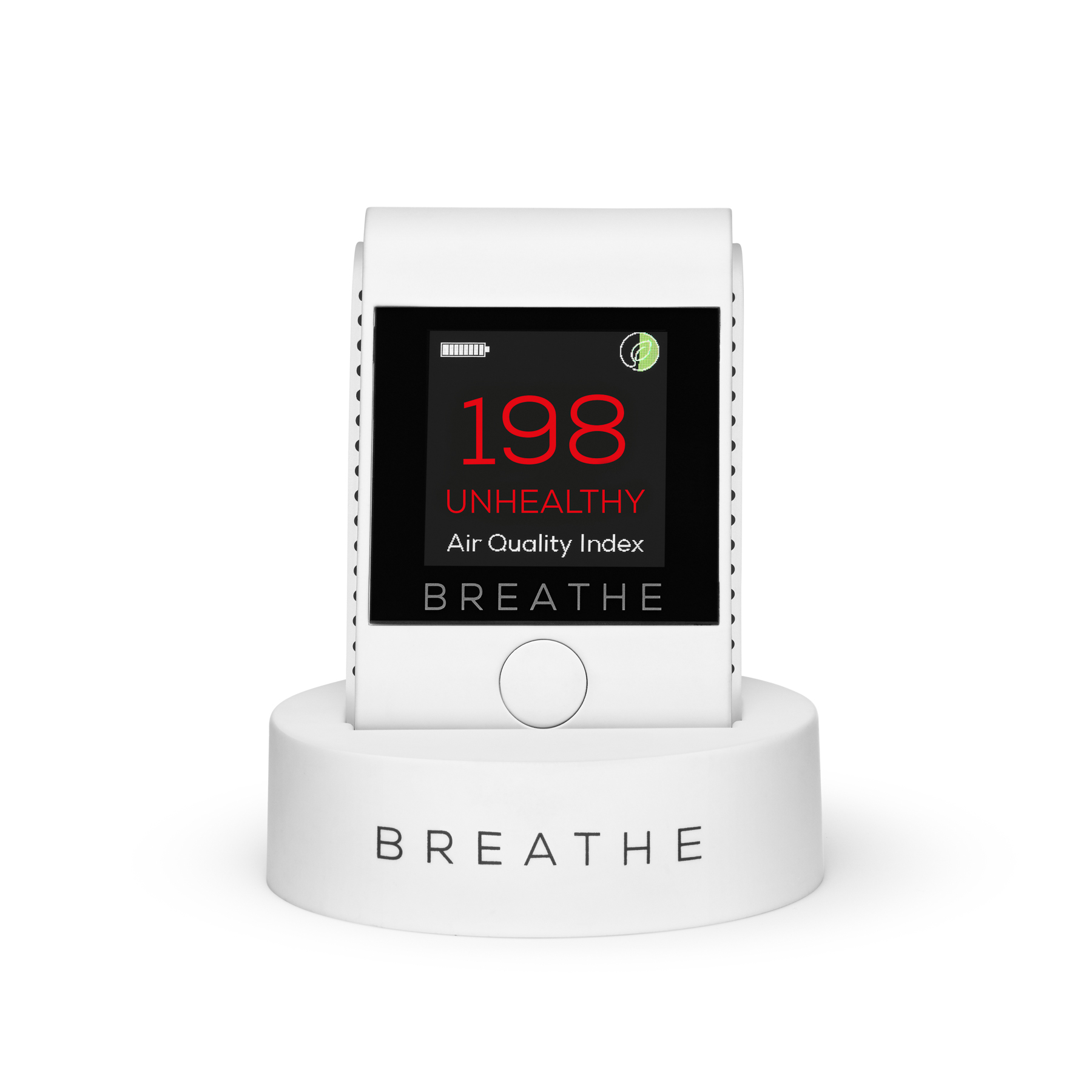 BREATHE Smart air quality monitor front bad.jpg