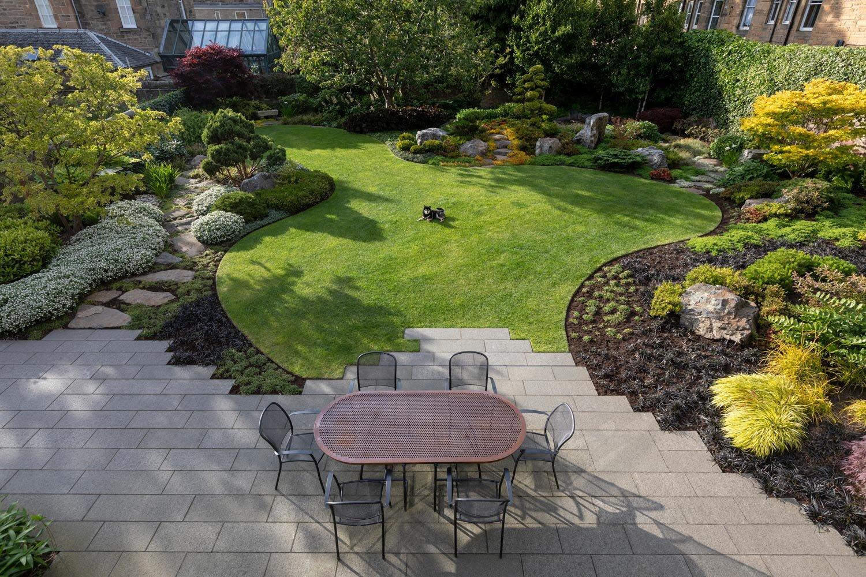 Japanese Garden Design Build Edinburgh Stephen Ogilvie Garden