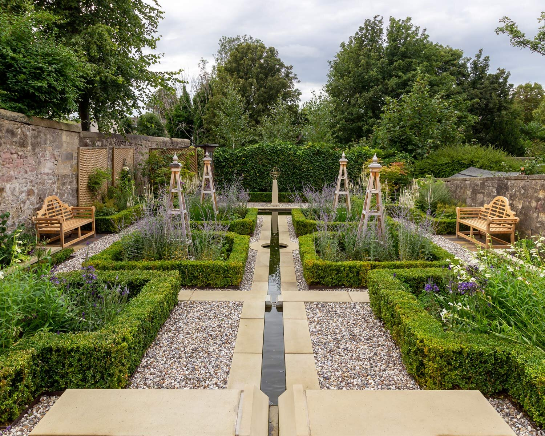 Traditional Garden Design The Grange Edinburgh Stephen Ogilvie Garden Design Build Horticulture
