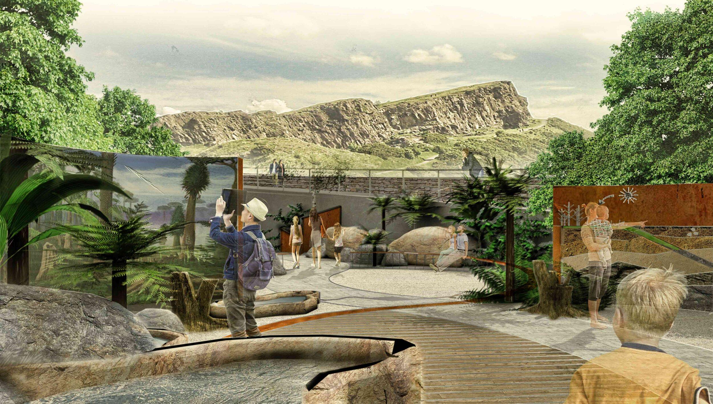 Landscape Architecture, Edinburgh — Stephen Ogilvie Garden ...