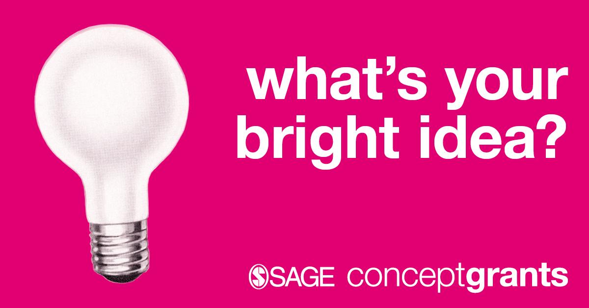 SAGE Concept Grants