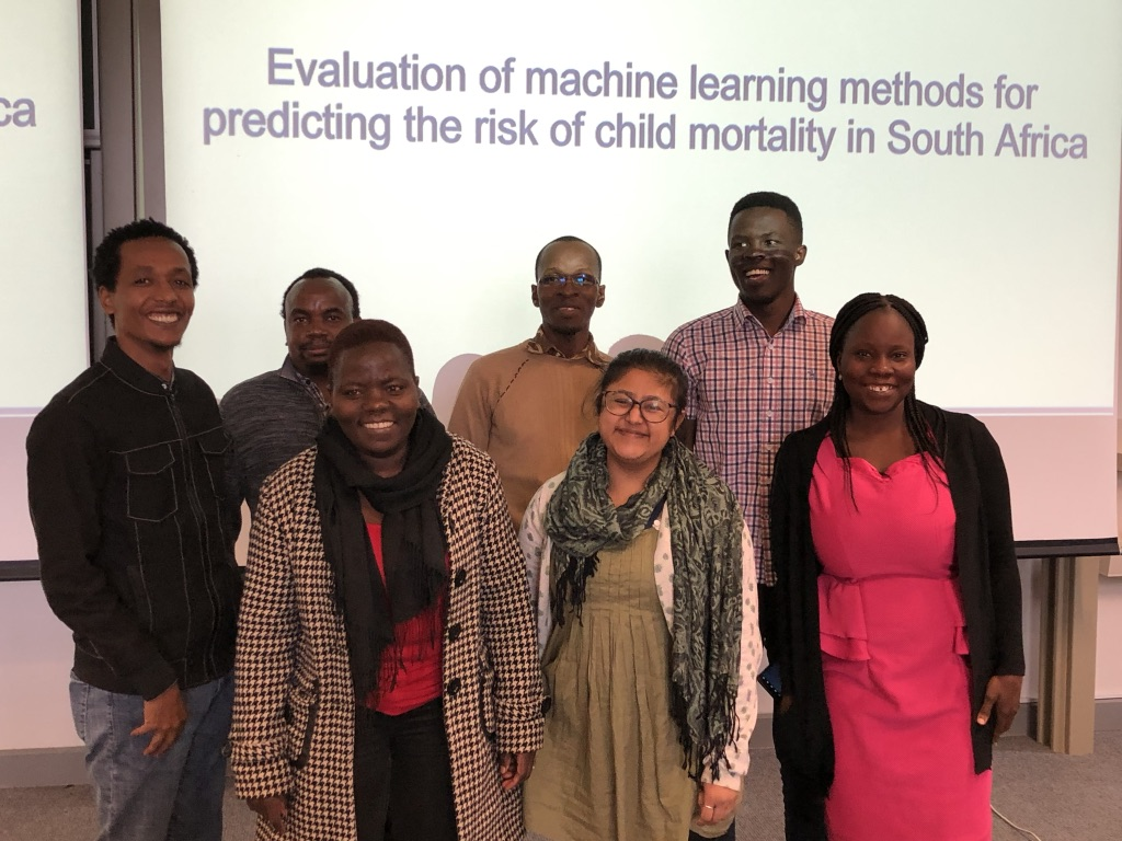 Group 1 at the Cape Town partner site of the Summer Institute in Computational Social Science