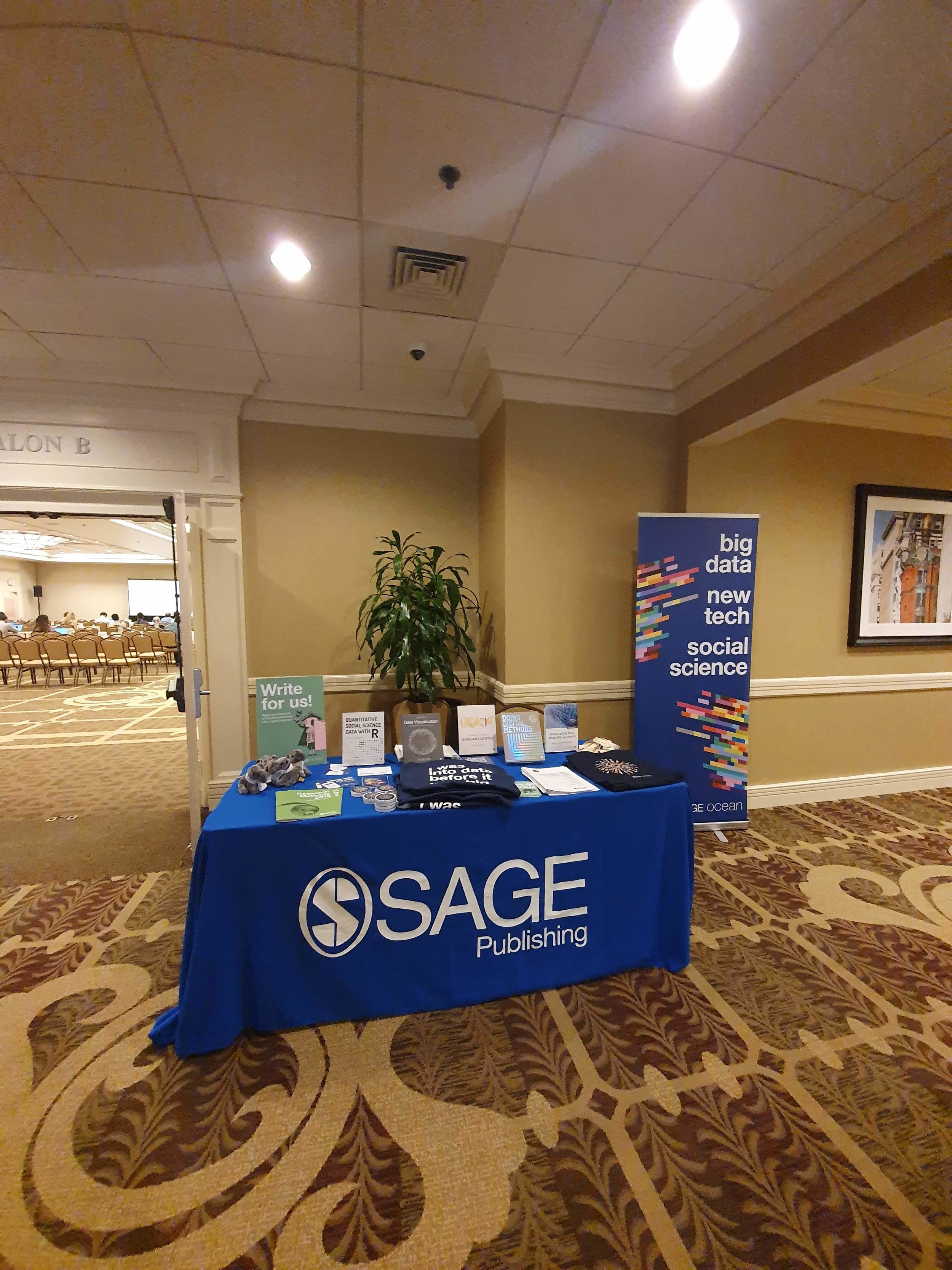 SAGE Ocean's stand at PaCSS 2019