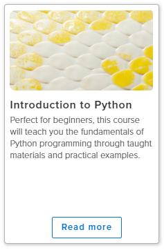 Python的介绍。在线课程图像