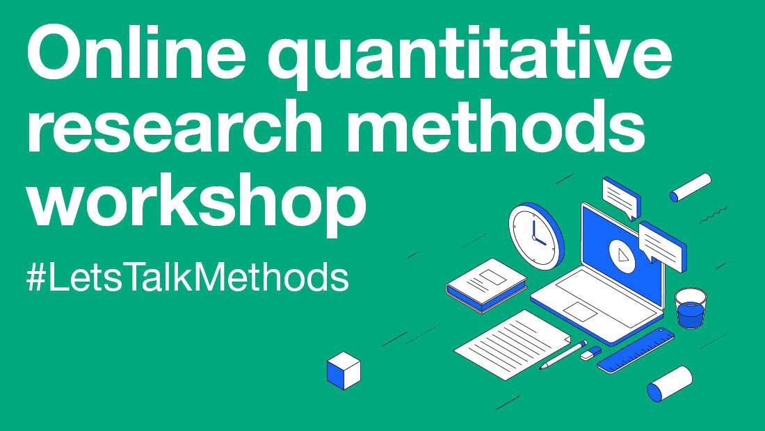 在线定量研究方法研讨会#LetsTalkMethods