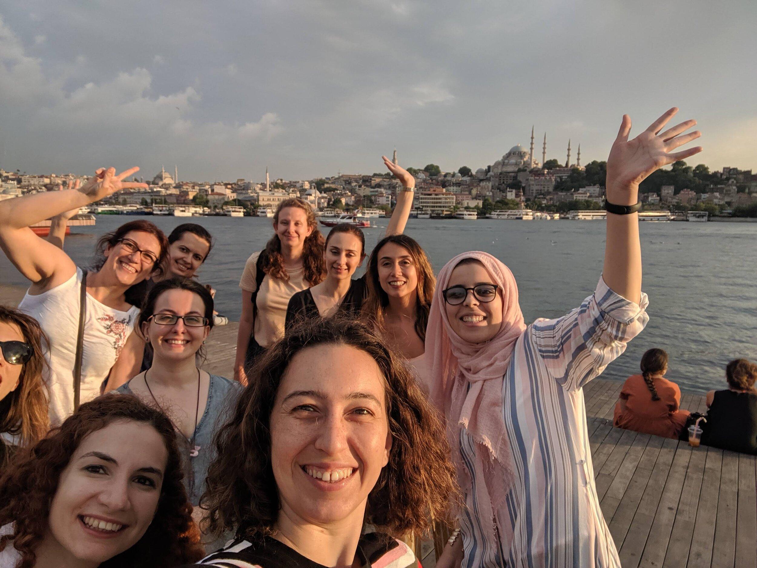 SICSS-Istanbul 2019名参与者