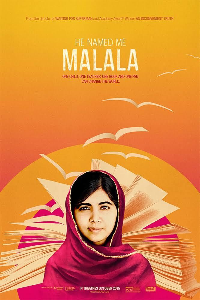 Davis Guggenheim , Malala Yousafzai , Ziauddin Yousafzai , Toor Pekai Yousafzai
