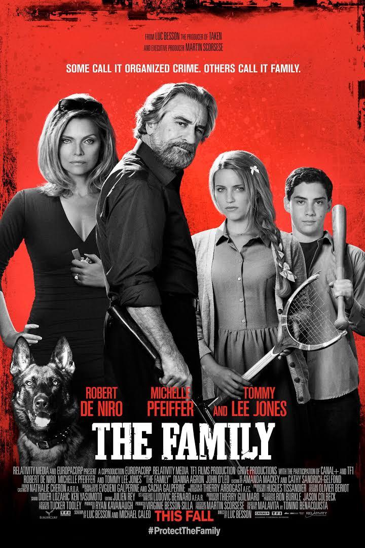 Luc Besson , Michael Caleo , Robert De Niro , Michelle Pfeiffer , Dianna Agron
