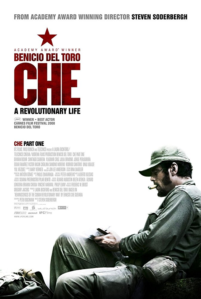 Steven Soderbergh , Peter Buchman , Ernesto 'Che' Guevara , Julia Ormond , Benicio Del Toro , Oscar Isaac