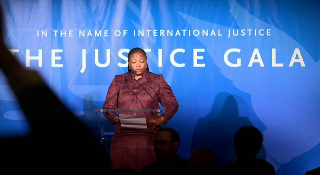 ICC chief prosecutor Fatou Bensouda at The Justice Gala 2012 by Cinema for Peace in New York.