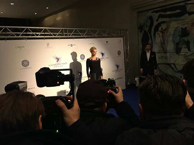 Welcome @charlizeafrica to #cinemaforpeace2019