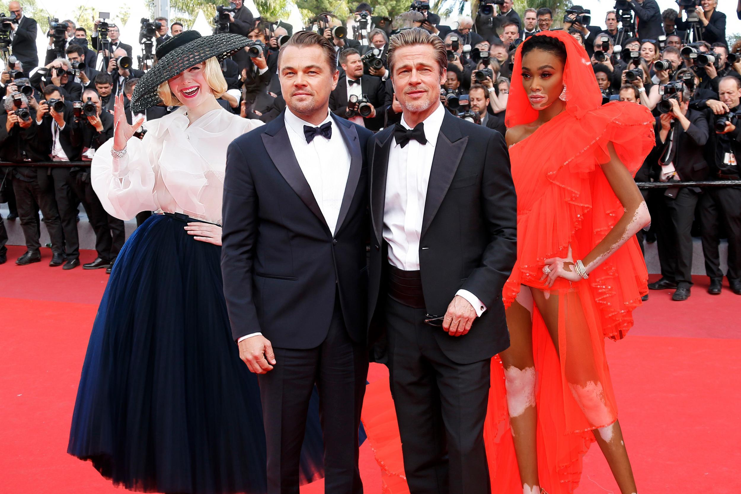 Cinema for Peace honouree Leonardo DiCaprio used the global attention for his Tarantino film with Brad Pitt to premiere the climate change film Ice on Fire.