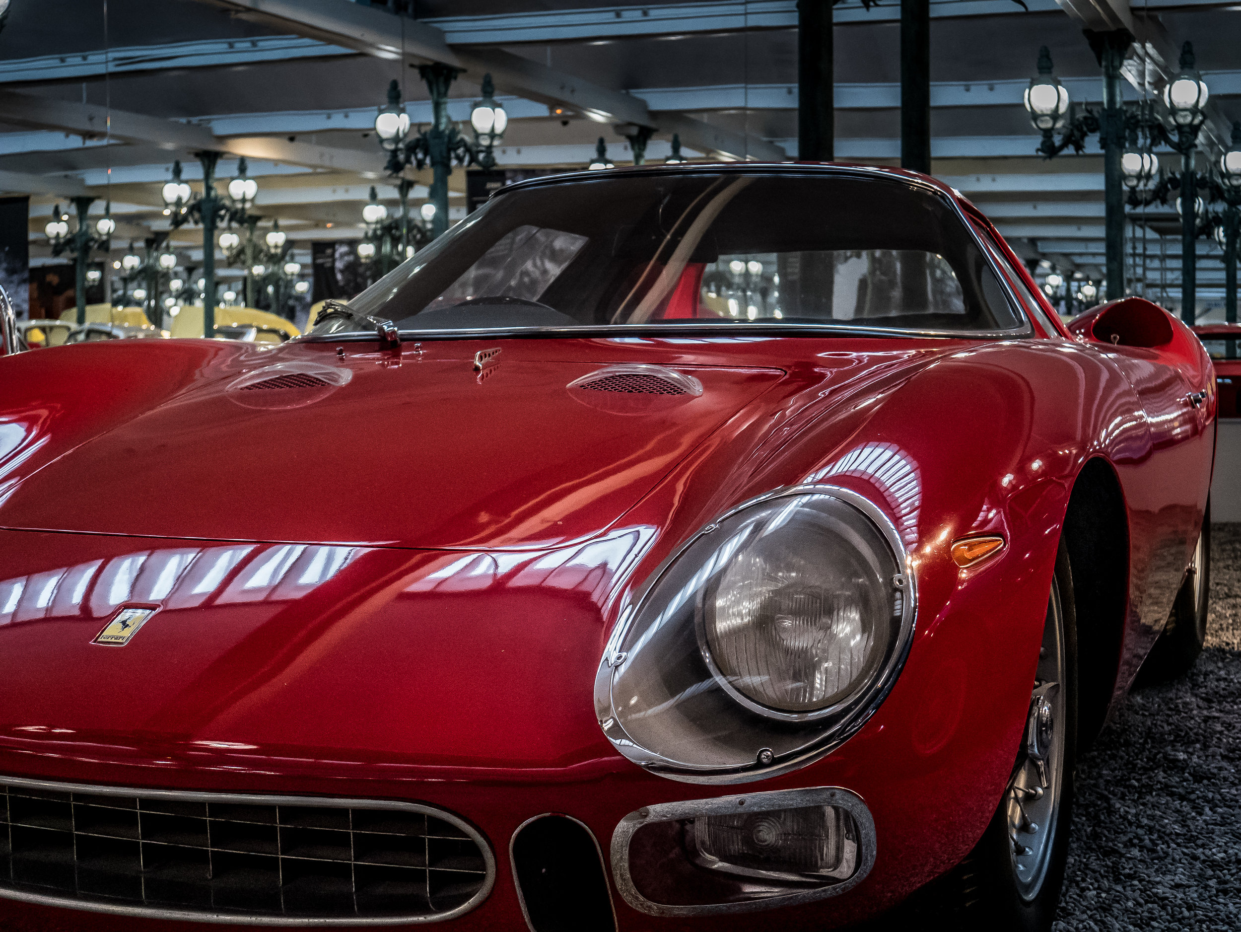 Ferrari Type 250 LM (1964) displayed in the main room of the Schlumpf collection (Credit: Nicolai Rauser)