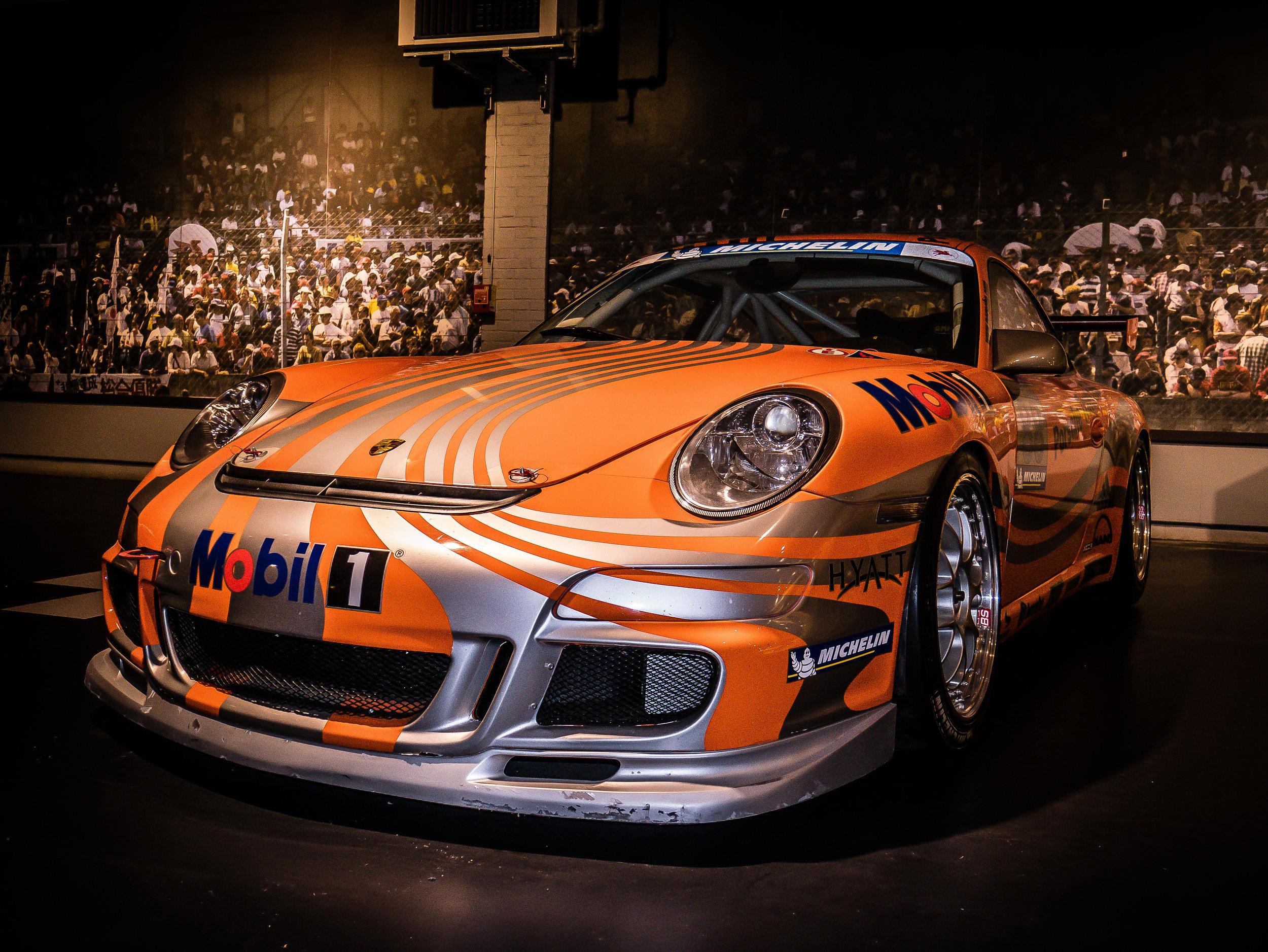A racing Porsche (Credit: Nicolai Rauser)