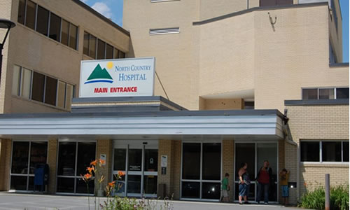 North Country Hospital  189 Prouty Dr. Newport, VT 05855 p: (802) 334-7331 w:  www.northcountryhospital.org