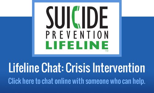 Chat With Someone Now at the National Suicide Prevention Lifeline:
