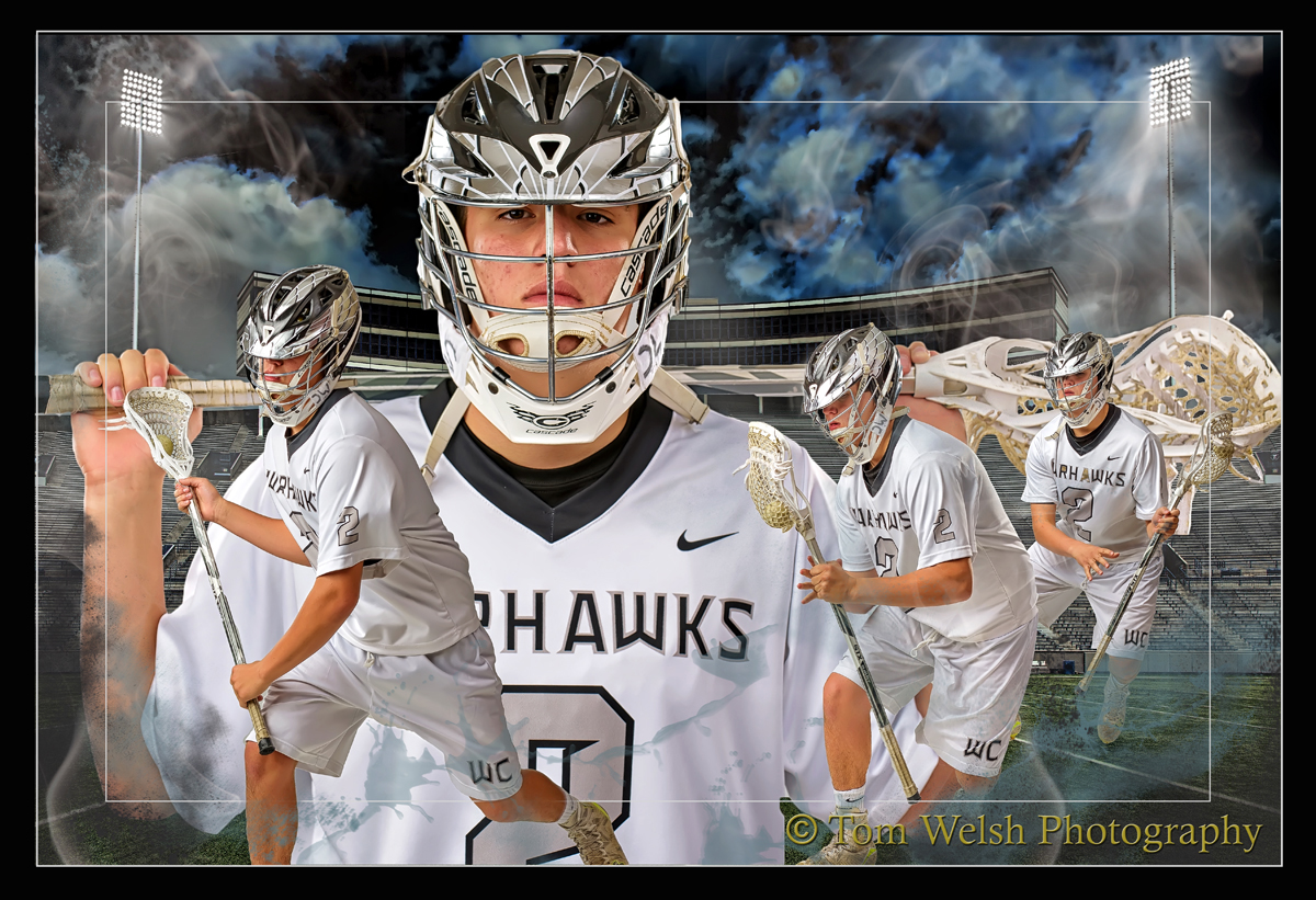 High School Senior Sports Composite