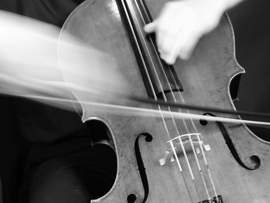 Cello Upbow by Jenny Serpa