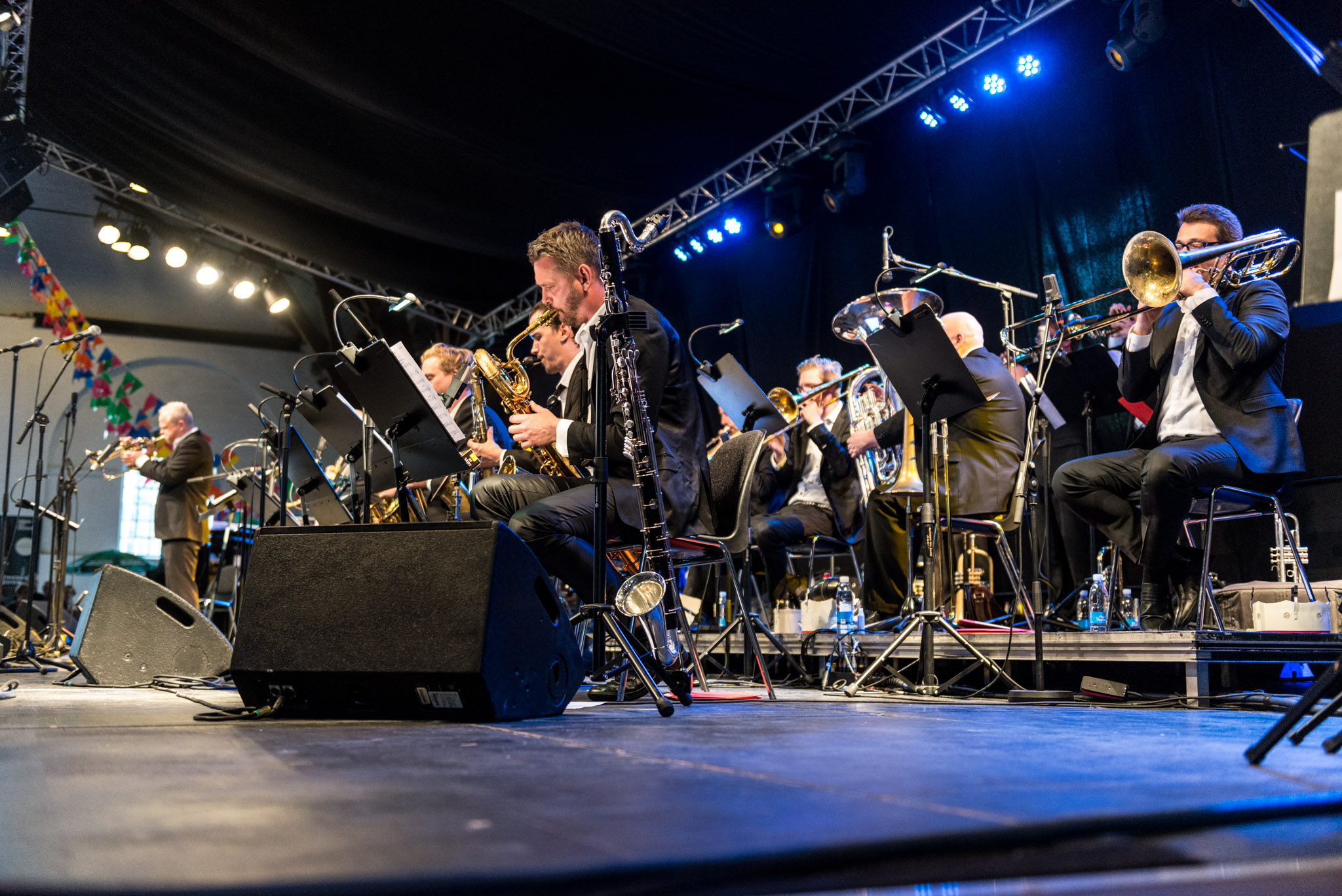 Aarhus Jazz Orchestra Ridehuset Swinger Flamenco Big Band Nights Perico Sambeat