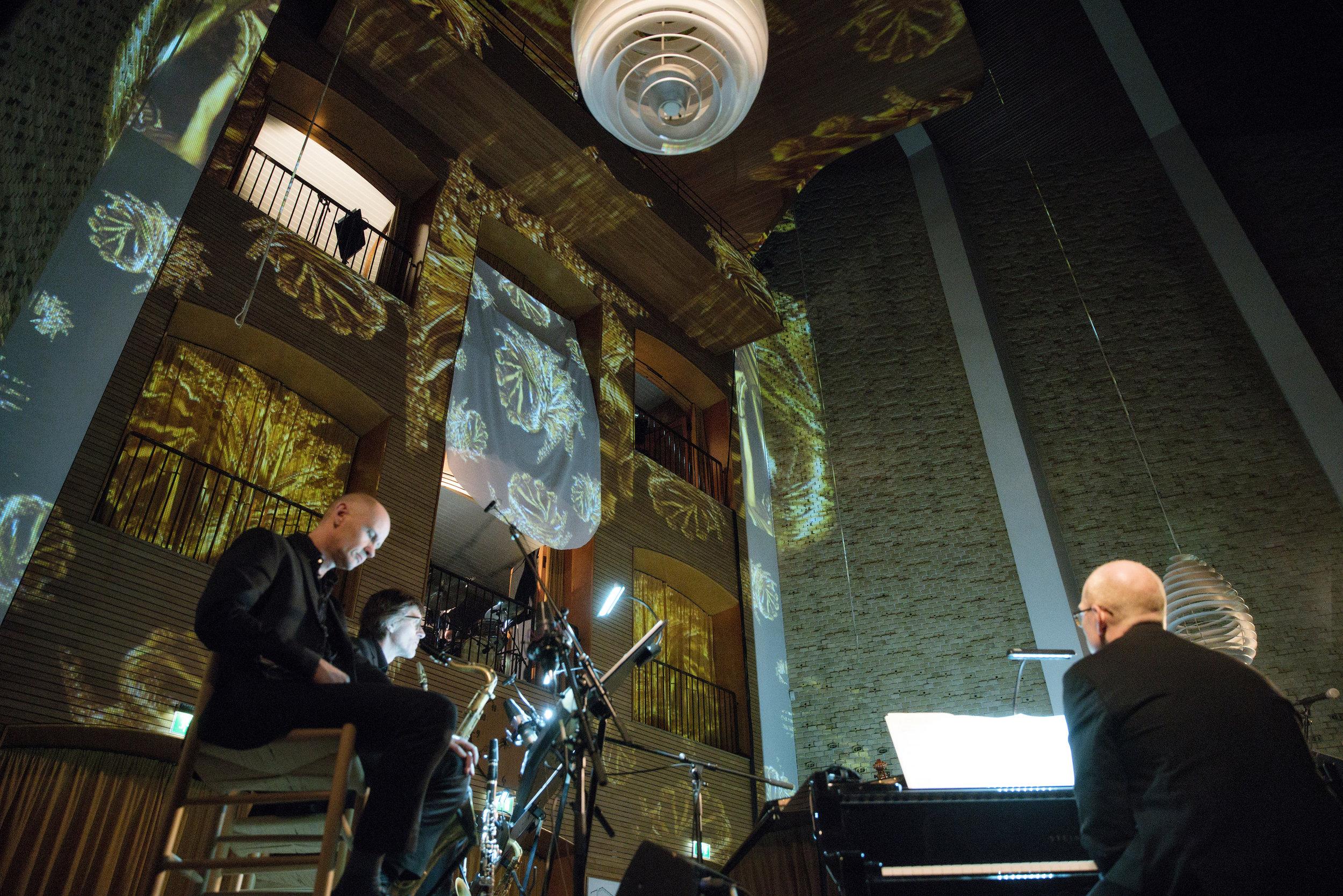 DANSE MACABRE, ÅRHUNDREDETS FESTIVAL 2018  Aarhus Jazz Orchestra feat. Signe Bisgaard, Bjørn Svin, Laura Rathschau, Ida Nørholm & Søren Hein Rasmussen  Marts 2018