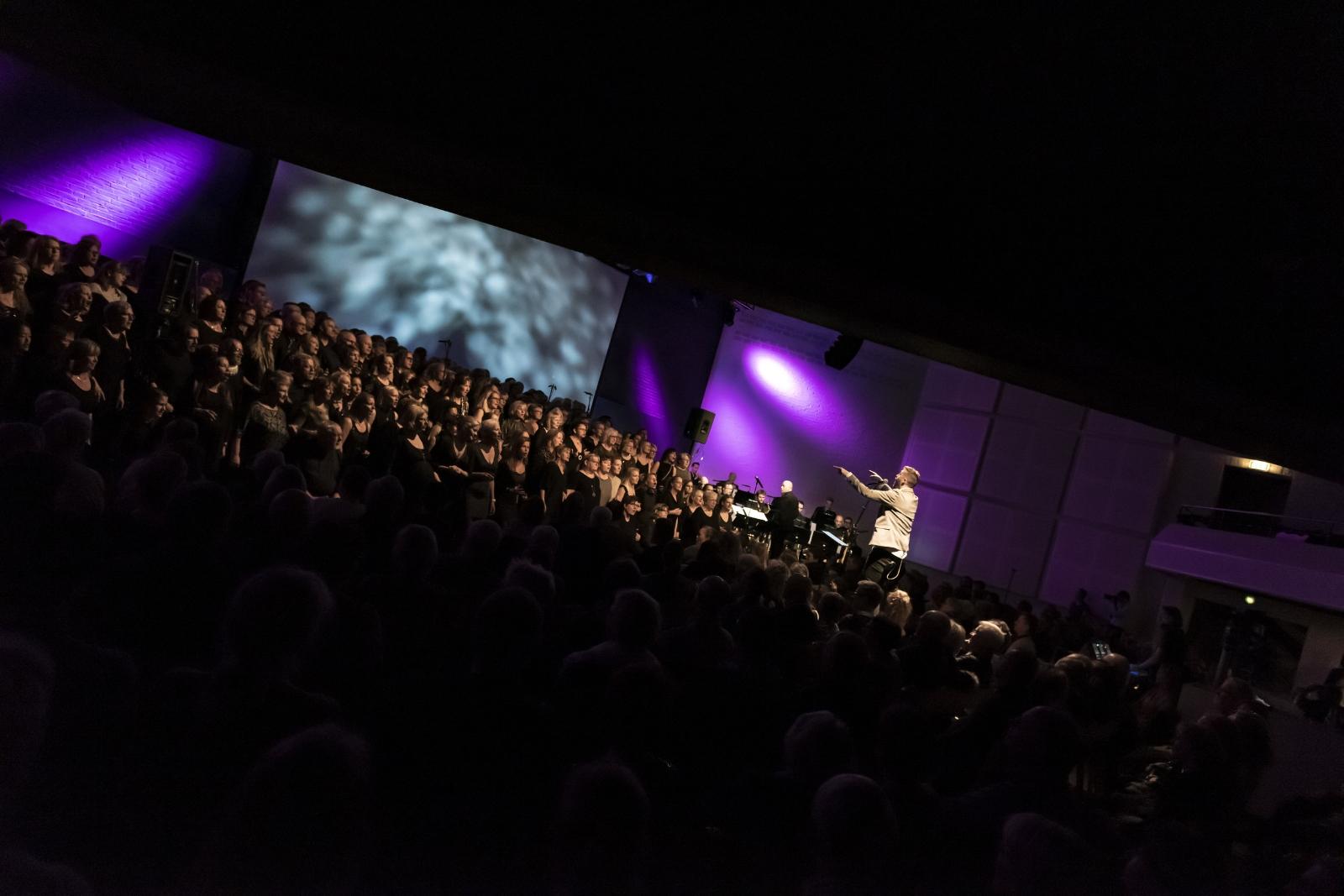 Aarhus Jazz Orchestra Marie Carmen Koppel Århus Gospel Singers