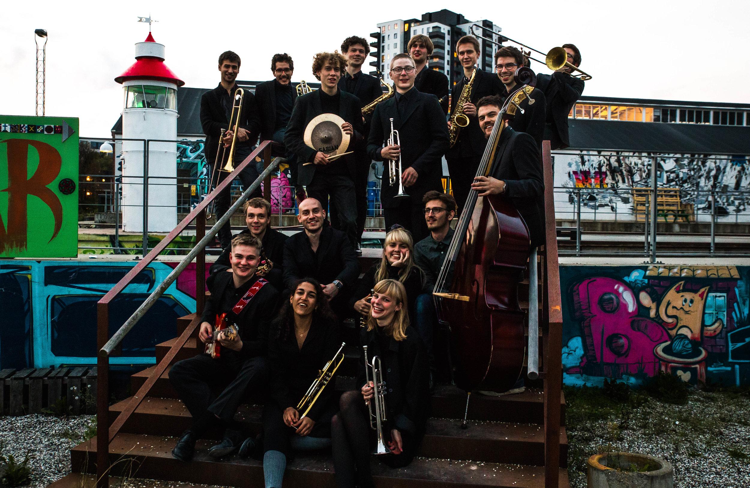 Danish Youth Jazz Orchestra er inspirationen til, og kommende samarbejdspartner i, det 3-årige udviklingsprojekt  Jazzfabrikken .