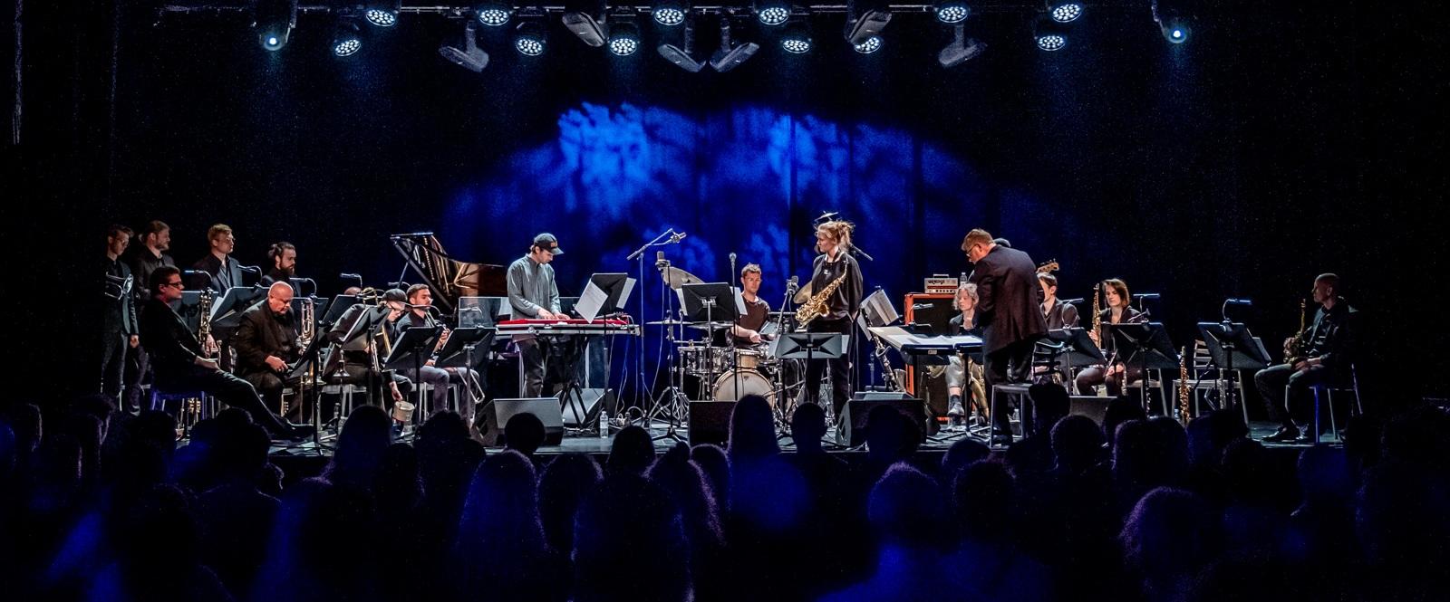 NYE TONER  Aarhus Jazz Orchestra, Athletic Progression & studerende fra Det Jyske Musikkonservatorium  Maj 2019