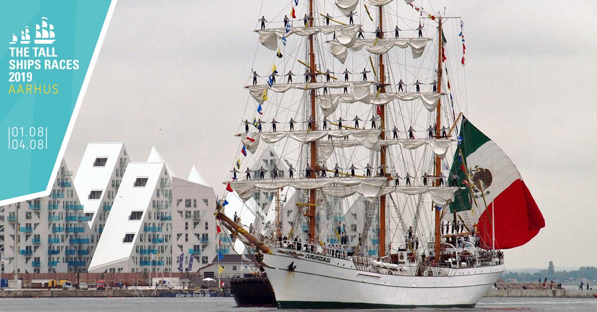 Aarhus Jazz Orchestra spiller 7 gratis koncerter på Aarhus Havn til The Tall Ships Races i Aarhus.