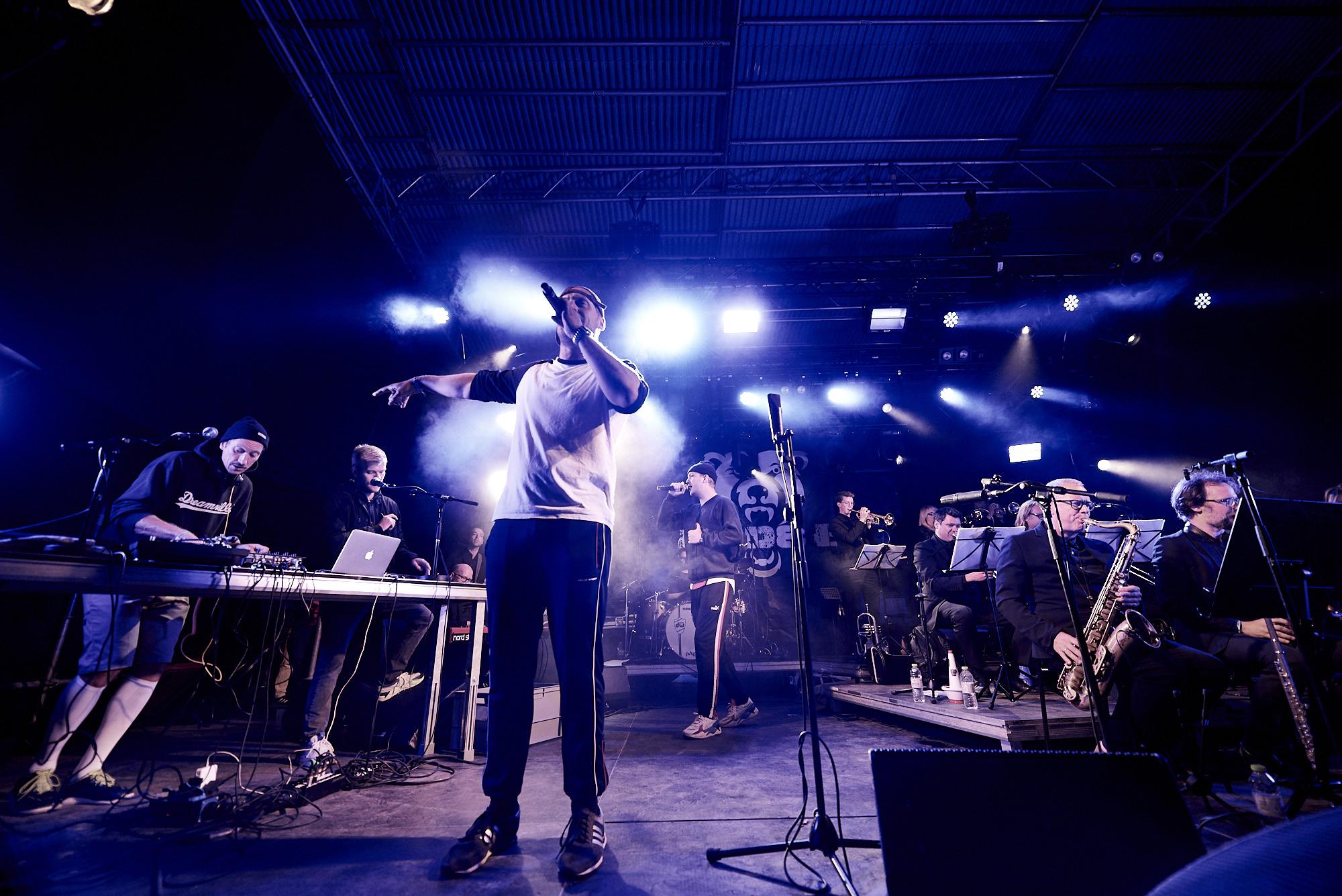Grimfest Aarhus Jazz Orchestra & Pede B