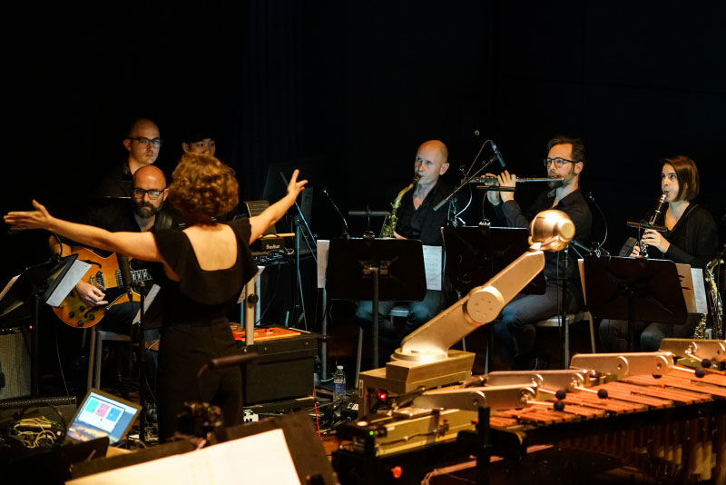Aarhus Jazz Orchestra Shimon the Robot We Robots